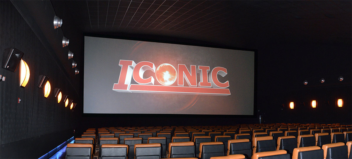 Icon Cinema - Albuquerque - Iconic Mega Screen