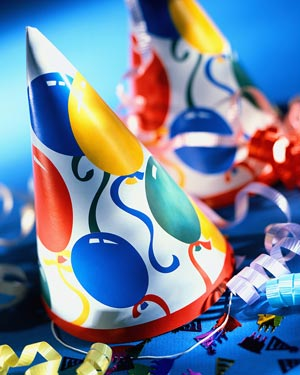 image of birthday party hat