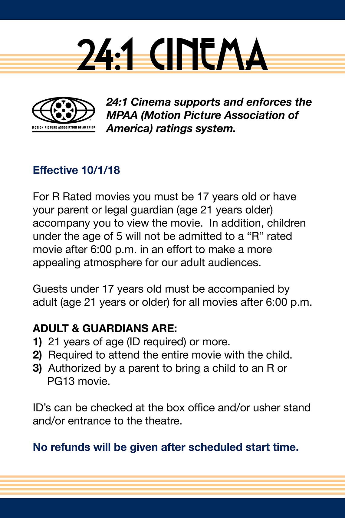 24 1 cinema ticket pricing